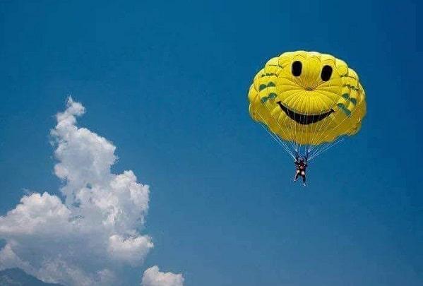 веселый парашют