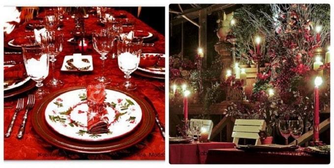 идеи новогодней сервировки