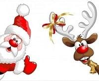 Конкурс Санта Клаус и олень
