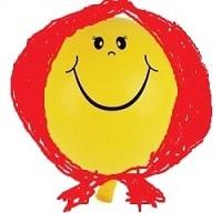 Веселый шарик в платочке