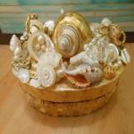 Морские ракушки в декоре